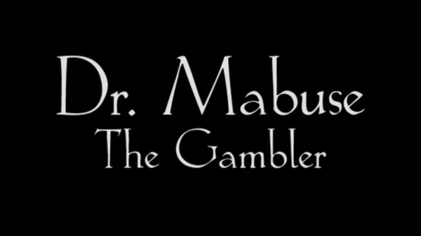 Dr. Mabuse, The Gambler Title